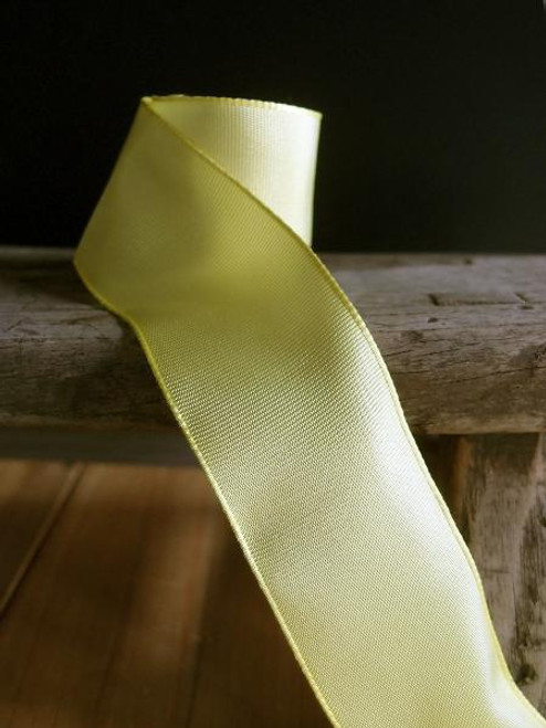 Lime Two-Toned Grosgrain Ribbon with Wired Edge ( 1 size)