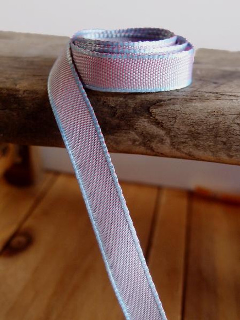 Lavender Two-Toned Grosgrain Ribbon (2 sizes)