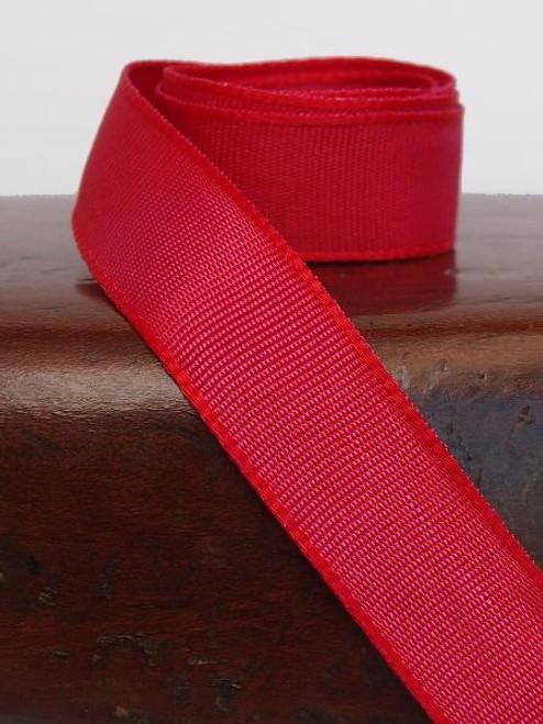 Reddish Hot Pink Two-Toned Grosgrain Ribbon (2 sizes)
