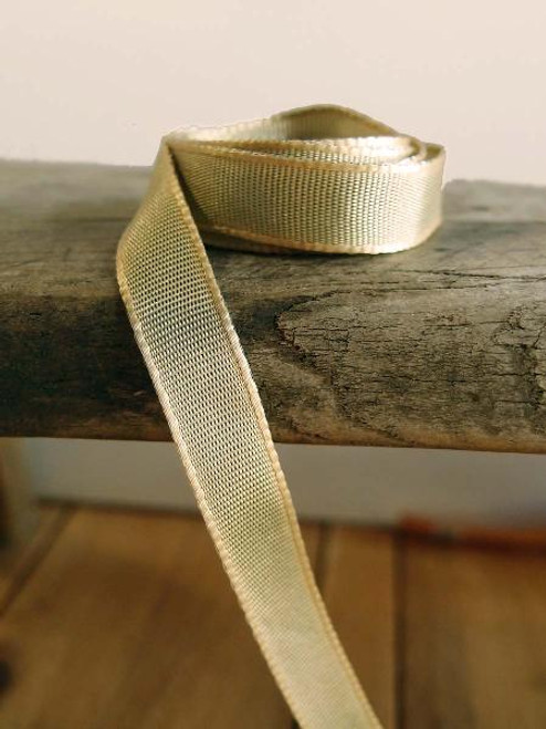 Moss Two-Toned Grosgrain Ribbon (2 sizes)