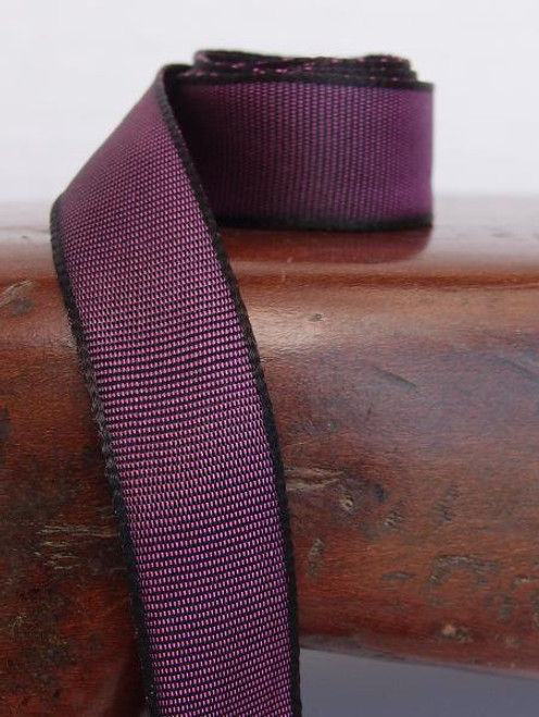 Eggplant Two-Toned Grosgrain Ribbon (2 sizes)