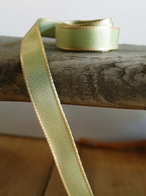 Kiwi Two-Toned Grosgrain Ribbon (2 sizes)