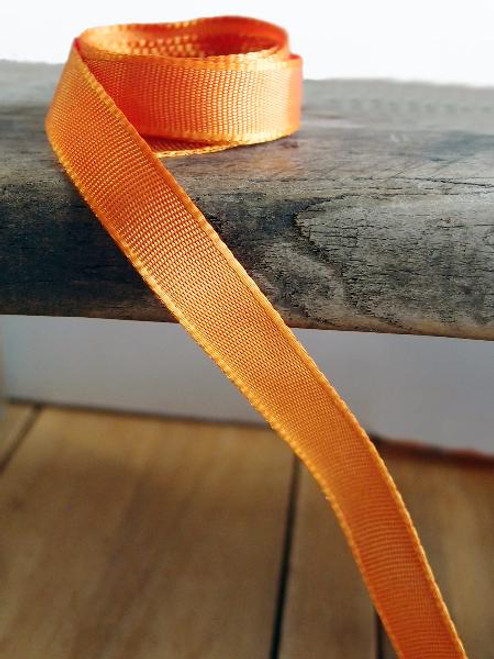 Orange Two-Toned Grosgrain Ribbon (2 sizes)