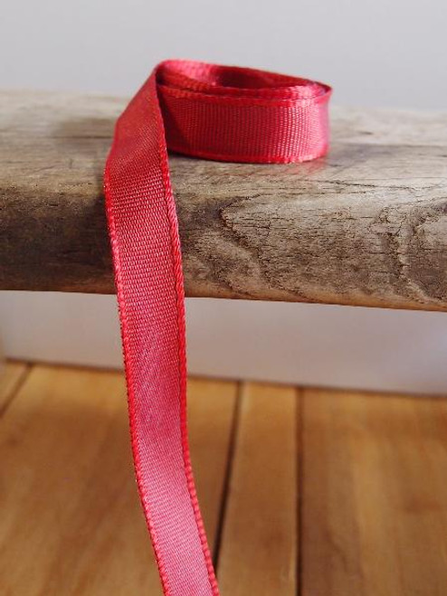 Red Two-Toned Grosgrain Ribbon (2 sizes)