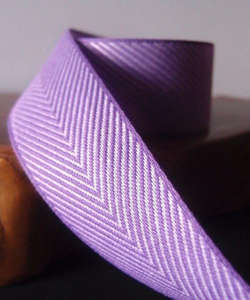 Purple Chevron Herringbone Ribbon