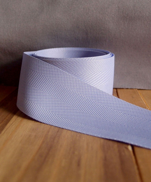 Lavender Herringbone Twill Ribbon (3 sizes)