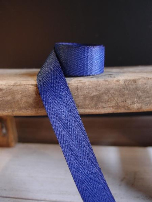 Navy Herringbone Twill Ribbon (3 sizes)