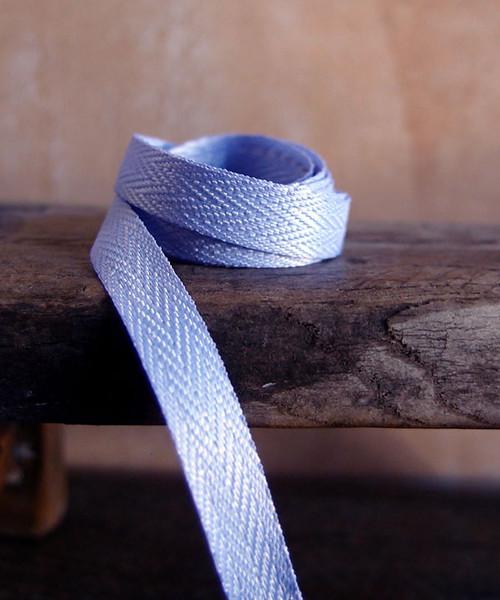 Delphinium Herringbone Twill Ribbon (3 sizes)