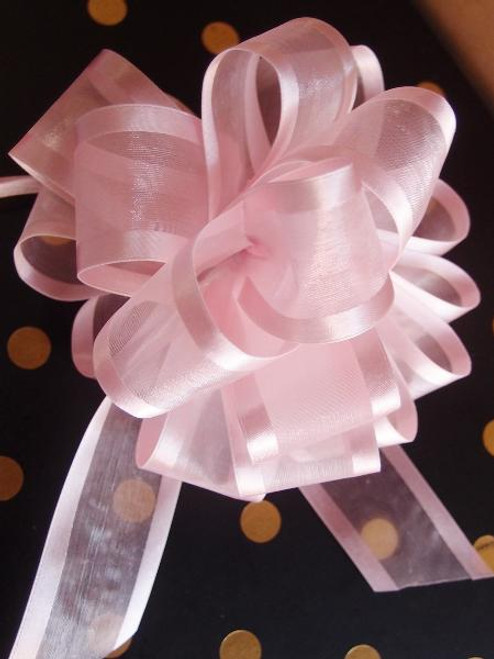 Wholesale Pull Bows, Gift Bows, Pull Bow Ribbon, Pink Pull Bows | Packaging Decor