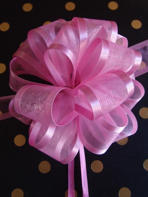 Wholesale PullBows, Gift Bows, Pull Bow Ribbon, Hot Pink Pull Bows | Packaging Decor