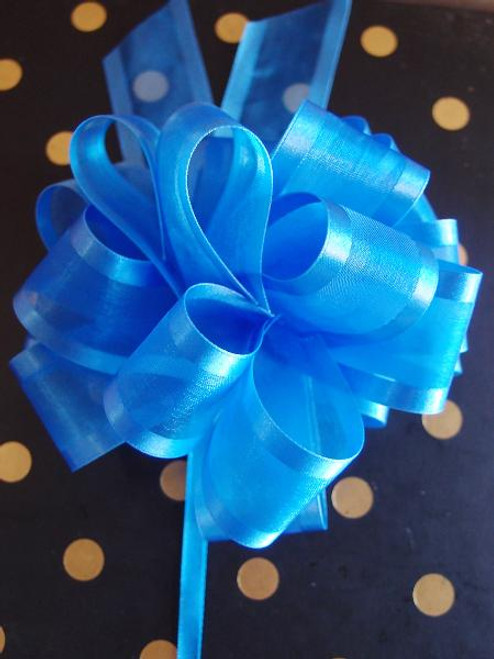 Wholesale Pull Bows, Gift Bows, Pull Bow Ribbon, Royal Blue Pull Bows | Packaging Decor