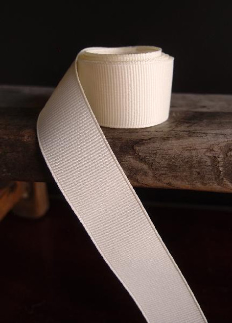 Ivory Grosgrain Ribbon (4 sizes)
