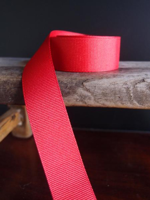Red Grosgrain Ribbon (4 sizes)