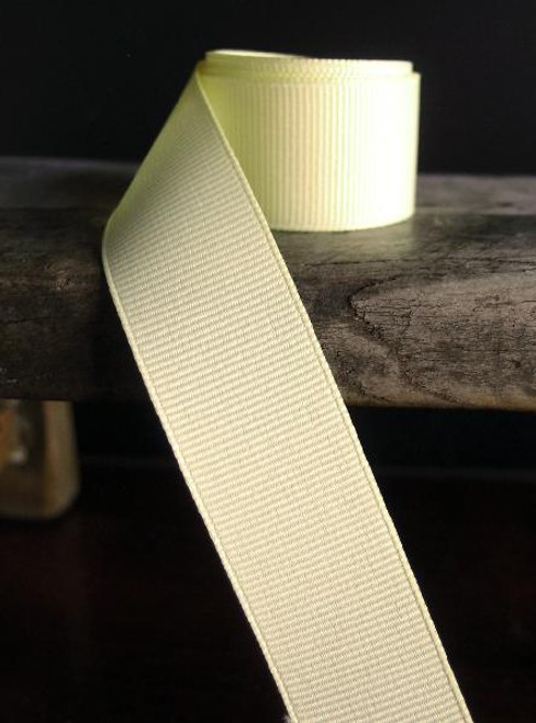 Yellow Grosgrain Ribbon (4 sizes)