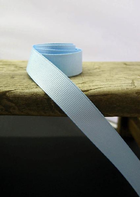 Light Blue Grosgrain Ribbon (4 sizes)