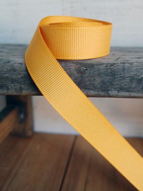 Gold Grosgrain Ribbon (4 sizes)