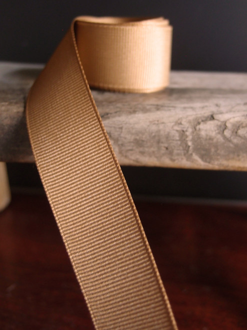 Camel Grosgrain Ribbon (4 sizes)