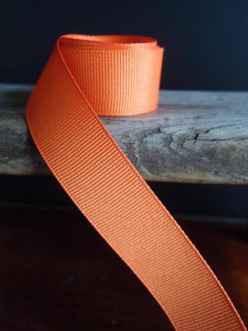 Orange Grosgrain Ribbon (4 sizes)