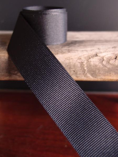 Black Grosgrain Ribbon (4 sizes)