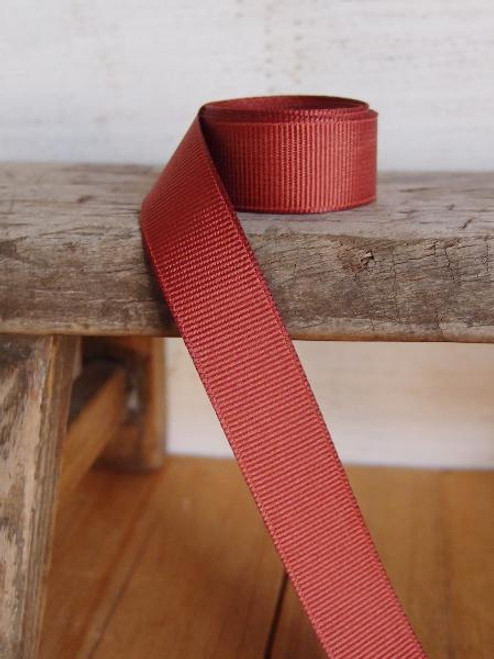 Rust Grosgrain Ribbon (4 sizes)