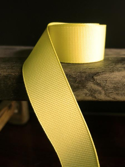 Dark Yellow Grosgrain Ribbon (4 sizes)