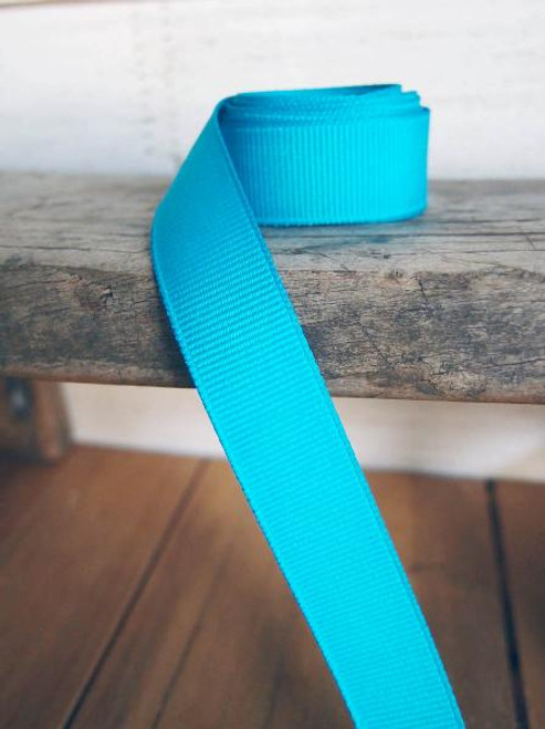Turquoise Grosgrain Ribbon (4 sizes)