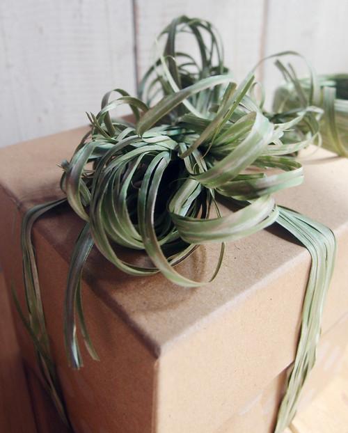 Upscale Raffia Green