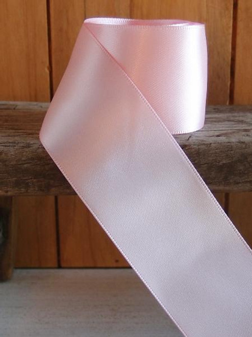 Pink Double Face Satin Ribbon (8 sizes)