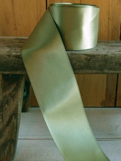 Moss Double Face Satin Ribbon (6 sizes)
