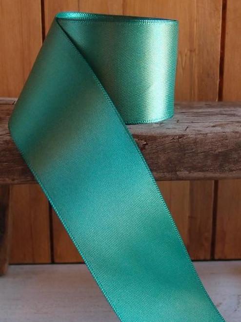 Emerald Green Double Face Satin Ribbon ( 7 sizes)