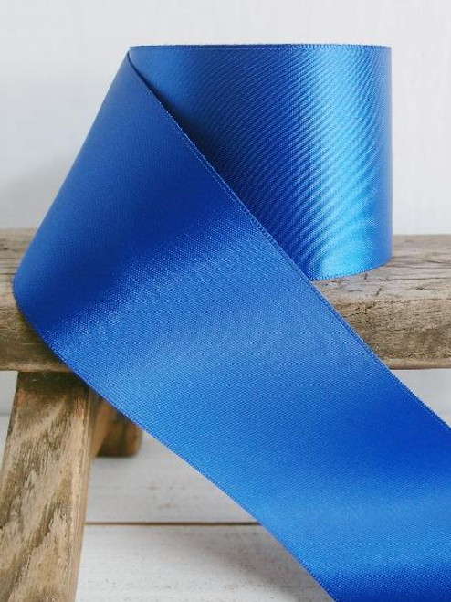 Royal Blue Double Face Satin Ribbon (8 sizes)