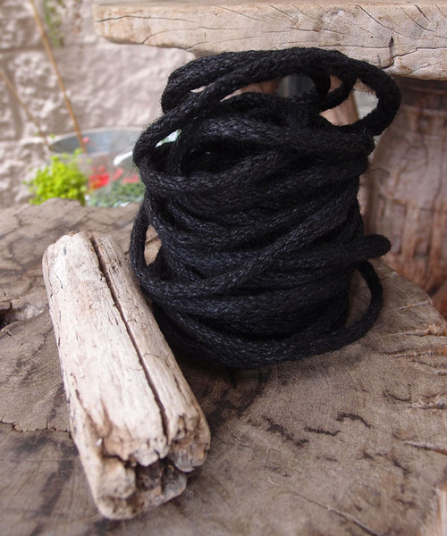 Black Jute Wired Rope