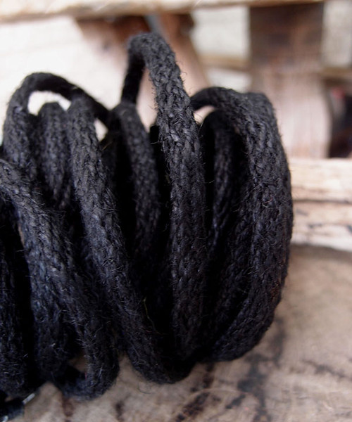 Black Jute Wired Rope
