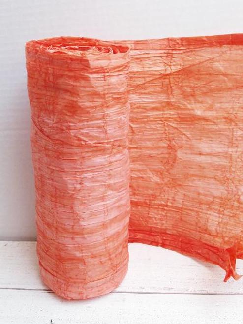 Italian Paper Garland - Orange Ombre