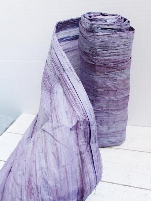 Italian Paper Garland - Purple Ombre