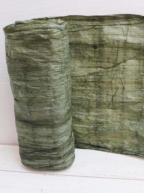 Italian Paper Garland - Green Ombre