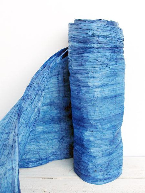 Italian Paper Garland - Royal Blue Ombre