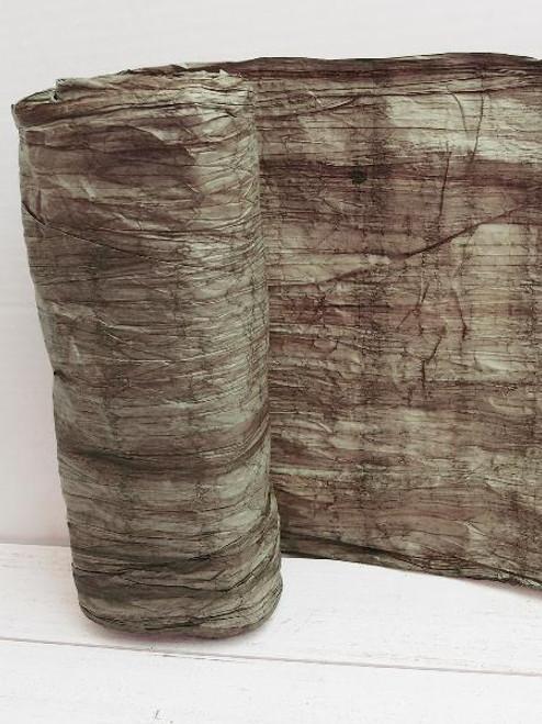 Italian Paper Garland - Dark Brown Ombre