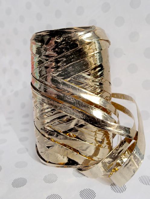 Metallic Gold Raffia