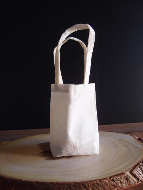 Small Cotton Bags, Cotton Favor Bags 5 x 5 x 2 inches B747-02, Wholesale Tote Bags | Packaging Decor