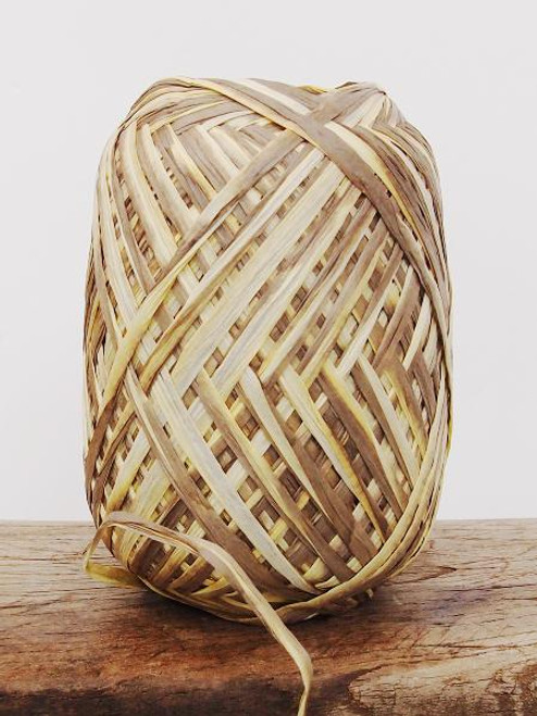 Milk Chocolate Paper Raffia Roll