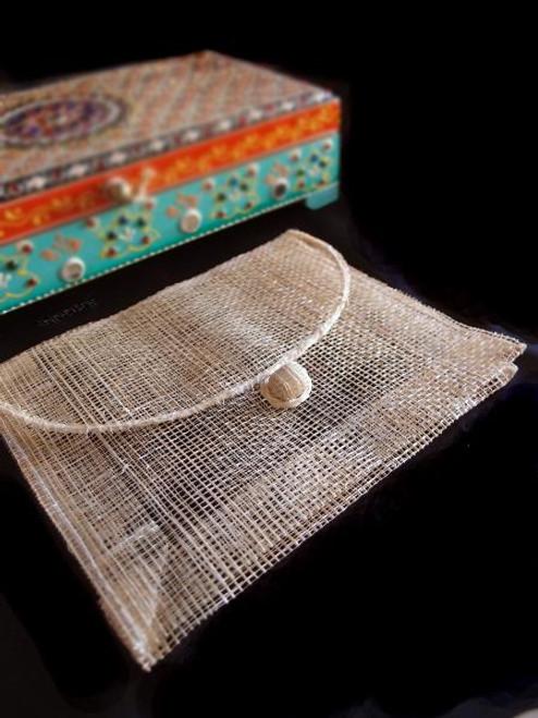 Sinamay Envelopes B975-02, Wholesale Gift Packaging | Packaging Decor