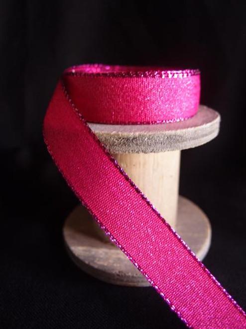 Fuchsia Shimmery Ribbon