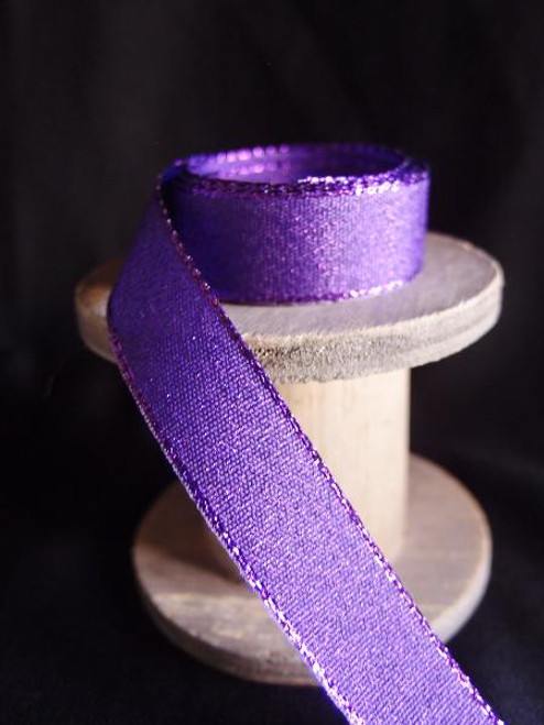 Purple Shimmery Ribbon