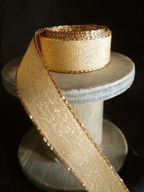 Gold Shimmery Ribbon