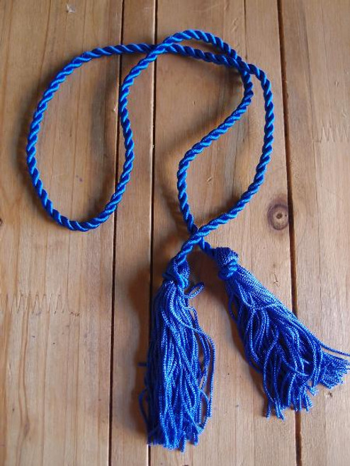 Royal Blue Tassels 26""