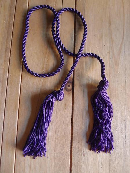 Purple Tassels 26""