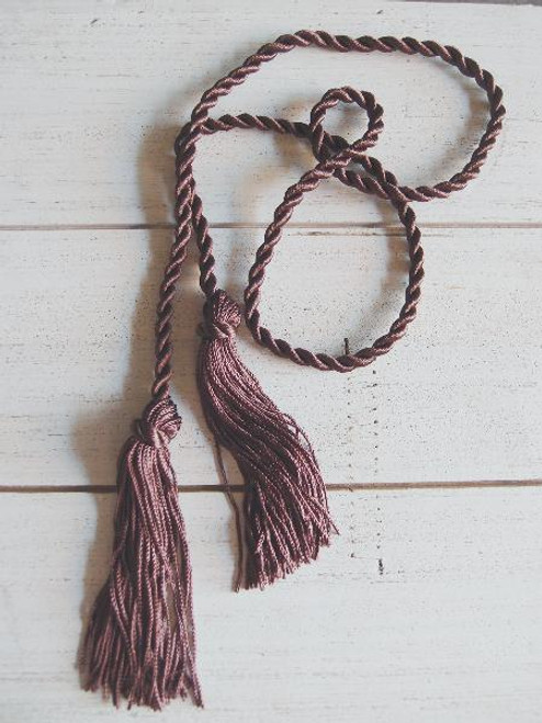 Brown Tassels 26""