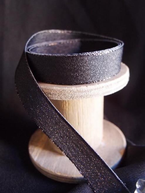 Black Shimmery Ribbon