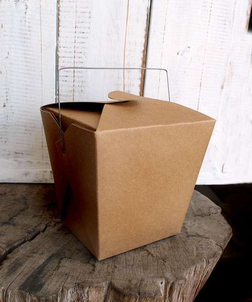 Kraft Paper Take Out Box (2 sizes)